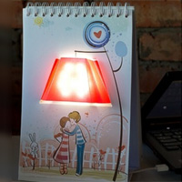 Светильник электрический настольный «Влюбленные»