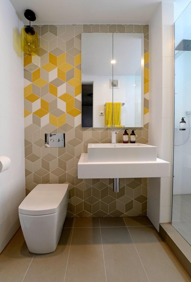 1001 узор для вязания спицами и крючком Дизайн маленькой ванной без кафеля