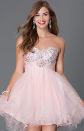 Беби-Долл платья . короткое вечернее пышное платье.