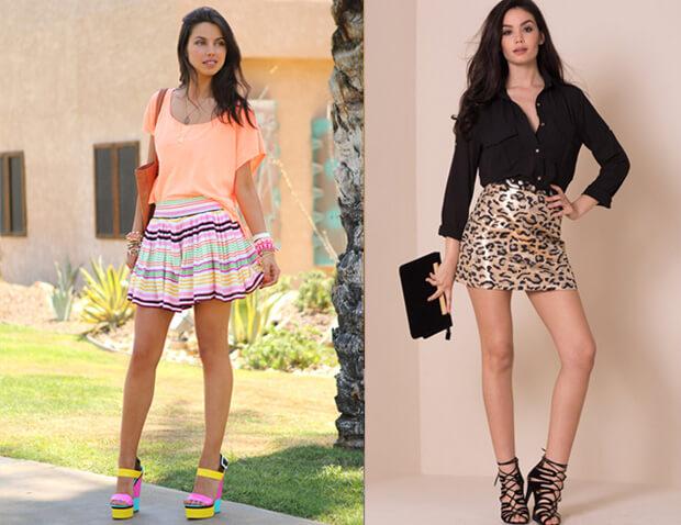 Короткие юбки. История возникновения и современные модные мини-юбки. С чем носить короткую юбку.