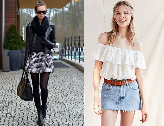 3bc109c6612 Короткие юбки. История возникновения и современные модные мини-юбки. С чем  носить короткую