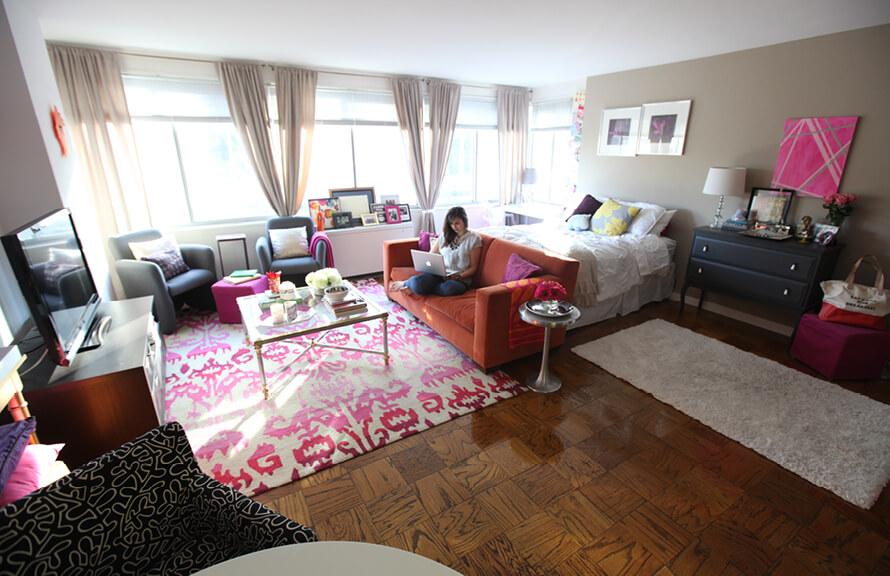Дизайн, интерьер и отделка маленьких и самых маленьких квартир.