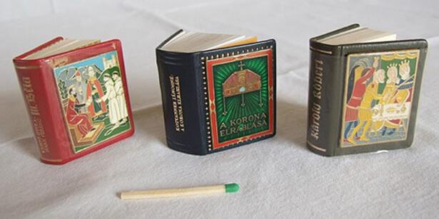 Миниатюрные и маленькие книги