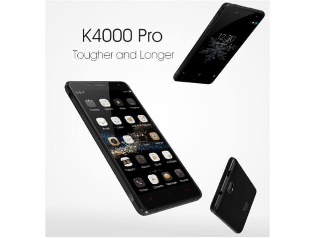 OUKITEL K4000 Pro — 4 600 Mh