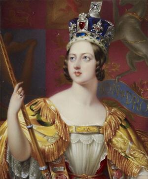 Британская королева Виктория. рост 152 см.