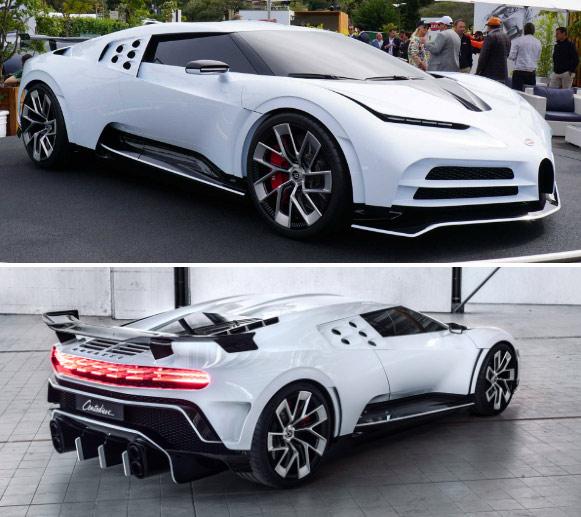 Bugatti Centodieci, Самые дорогие машины в мире.
