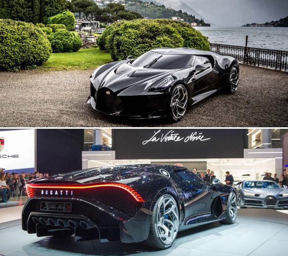 Bugatti La Voiture Noire, Самые дорогие машины в мире.
