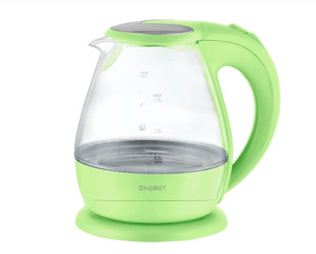 ENERGY E-266. лучшие стеклянные чайники.