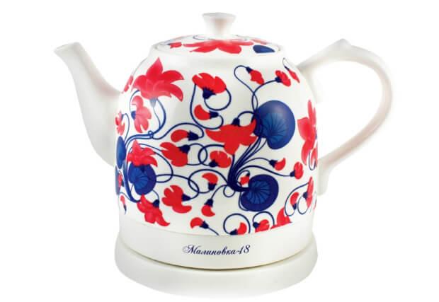 Малиновка-18. ТОП-10 лучших керамических чайников 2016