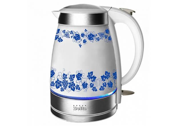 Delta DL-1210А. ТОП-10 лучших керамических чайников 2016