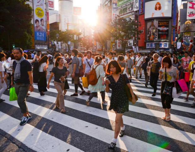 Япония. Самые большие по численности населения страны. Топ -10. 2016 год.