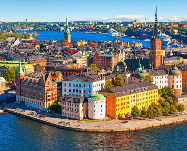 Стокгольм. Швеция. Самые большие по территории страны Европы. Топ-5.