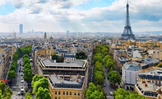 Париж. Самые большие по территории страны Европы. Топ-5.
