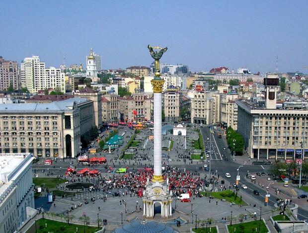Украина. Самые большие по территории страны Европы. Топ-5.