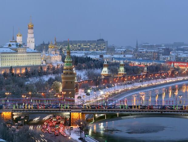 Росссия. Москва. Самые большие по территории страны Европы. Топ-5.