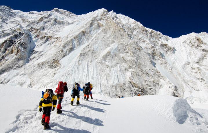 Самая высокая гора на земле. Гора Эверест.