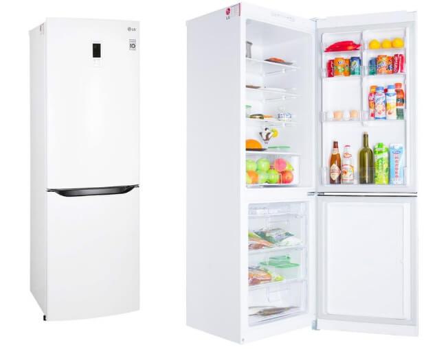 LG GA-B409 SVQA. ТОП-10 холодильников в 2016 году