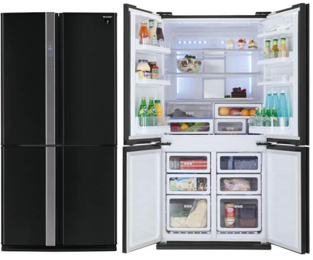 Sharp SJ-FP97VBK. ТОП-10 холодильников в 2016 году