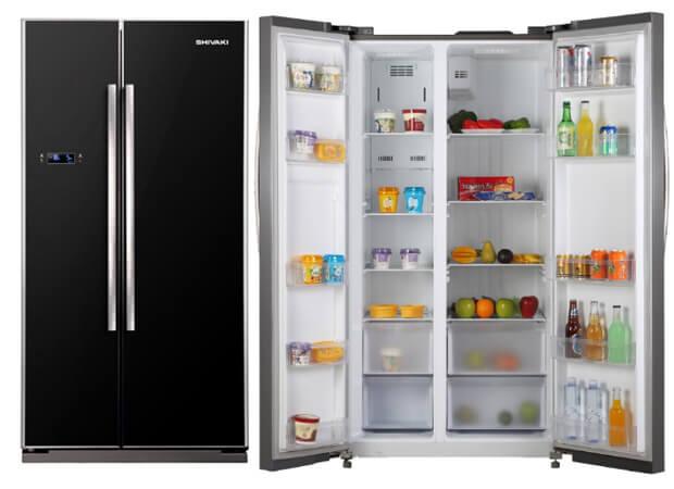 Shivaki SHRE-620SDGB. ТОП-10 холодильников в 2016 году