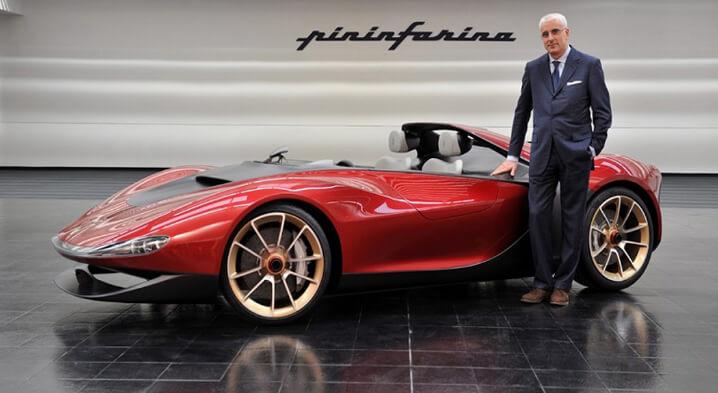 Ferrari Pininfarina Sergio. Самые дорогие машины в мире.