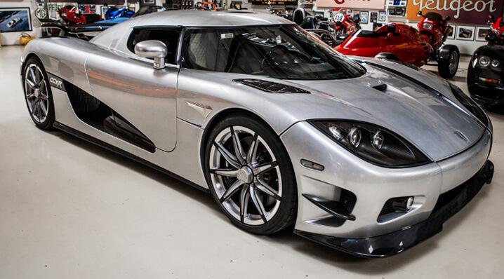 Koenigsegg CCXR Trevita. Самые дорогие суперкары.
