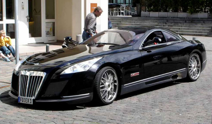 Maybach Exelero. Самые дорогие машины в мире.
