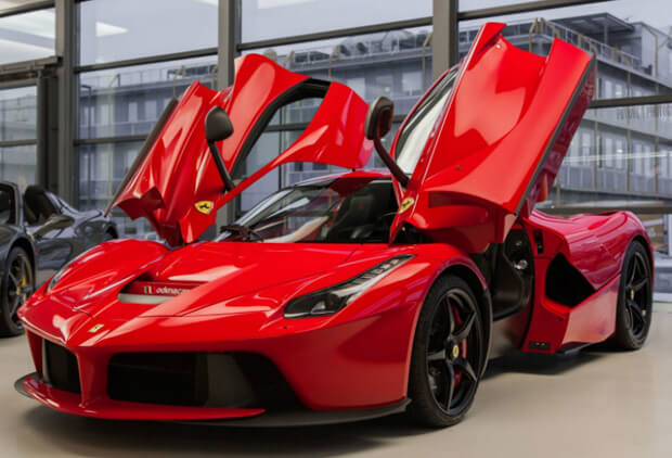 Ferrari La Ferrari. самые дорогие машины в мире.