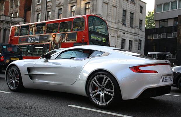 Aston Martin One-77. самые дорогие машины мира
