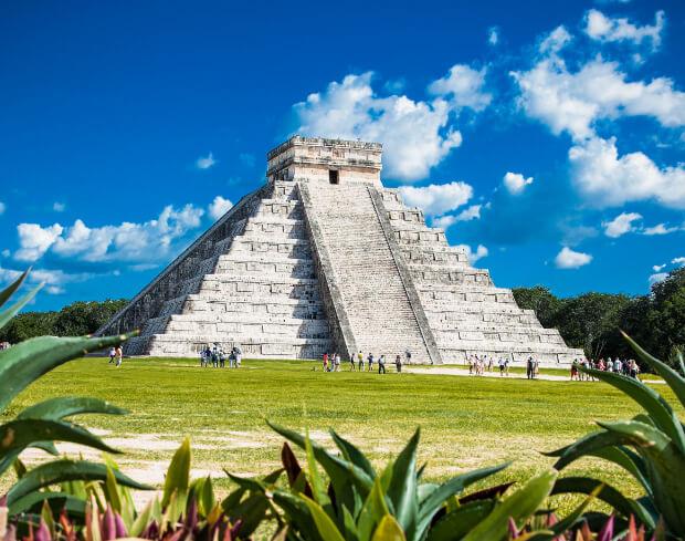 Чичен-Ица. Пирамида Кукулькан. 7 современных чудес света.
