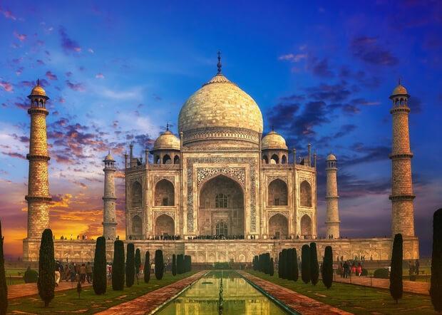 Тадж-Махал. 7 современных чудес света.