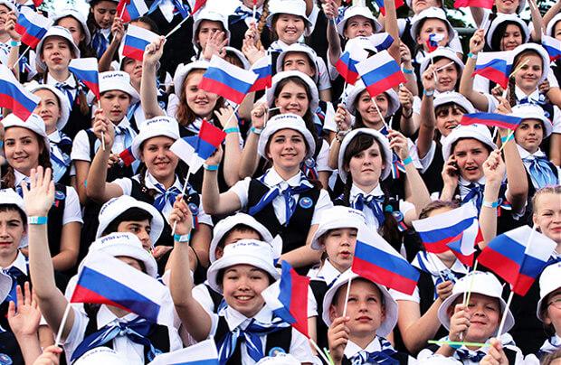 Россия. Самые большие страны Европы по численности населения.