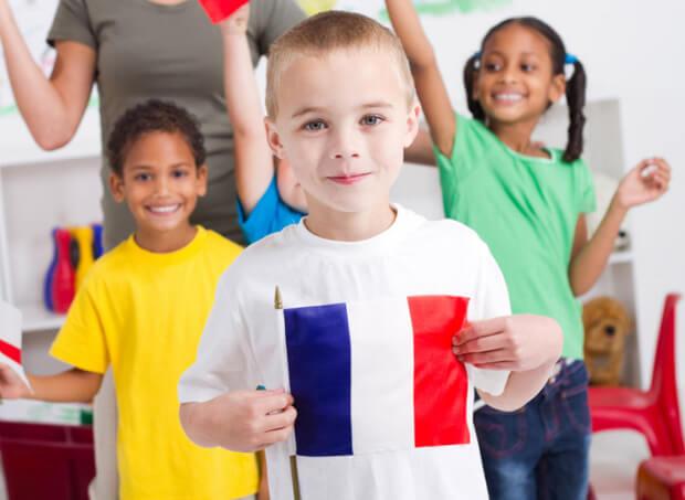 Франция. Дети. Самые большие страны Европы по численности населения.