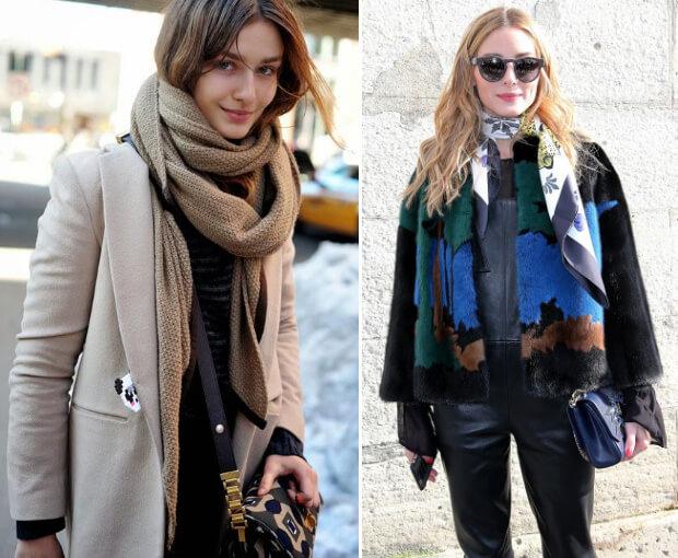 Модные шарфы осень-зима 2016 2017.