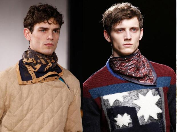 Мужские шарфы мода осень зима 2016 -2017