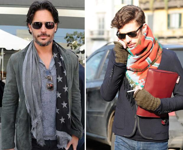 Мужские шарфы мода 2016 -2017