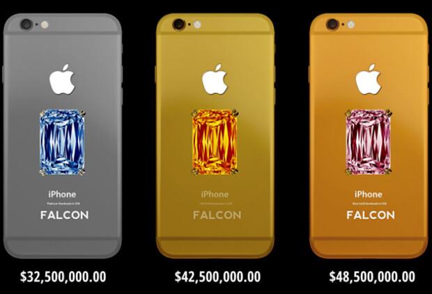 Falcon SuperNova iPhone 6, самые дорогие телефоны в мире.