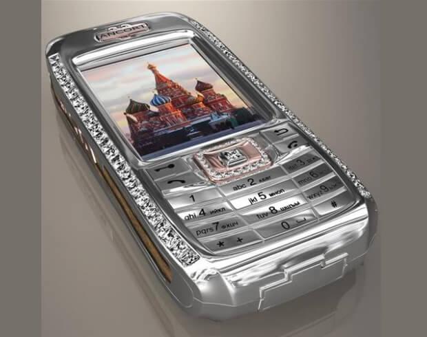 Diamond Crypto - самый дорогой телефон в Росссии.