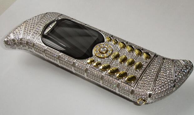 GoldVish Le Million. самые дорогие телефоны в мире.