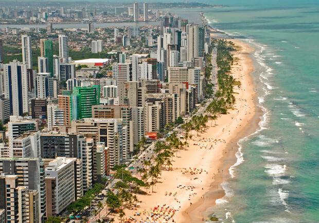 Бразилия. Самые большие по территории страны мира. Топ -10.