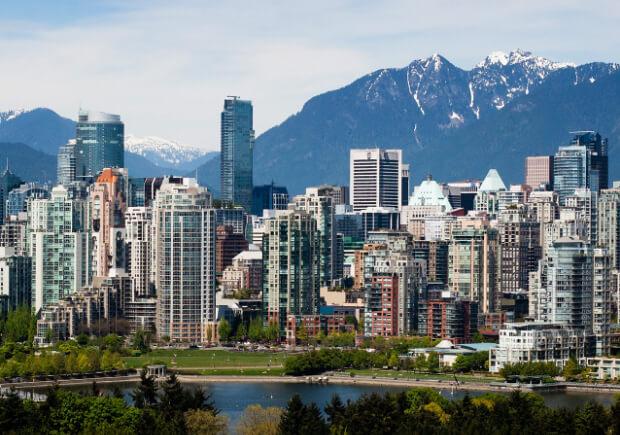 Ванкувер. Канада. Самые большие по территории страны мира. Топ -10.