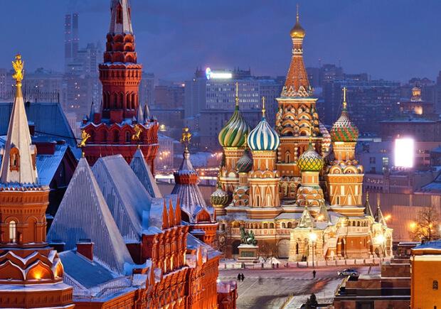 Росссия. Москва. Самые большие по территории страны мира. Топ -10.