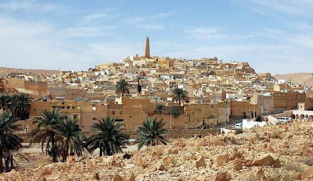 Алжир. Самые большие по территории страны мира. Топ -10.