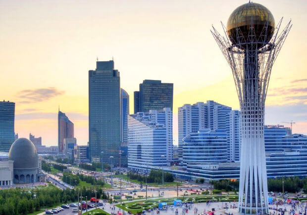 Казахстан. Астана.