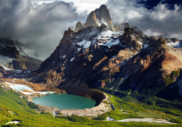 Аргентина. Озеро Патагония. Самые большие по территории страны мира. Топ -10.