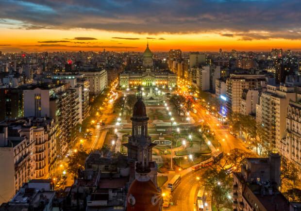 Аргентина. Буэнос -Айрес. Самые большие по территории страны мира. Топ -10.