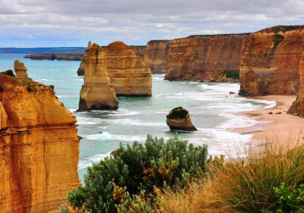 Пляжи Австралии. Самые большие по территории страны мира. Топ -10.