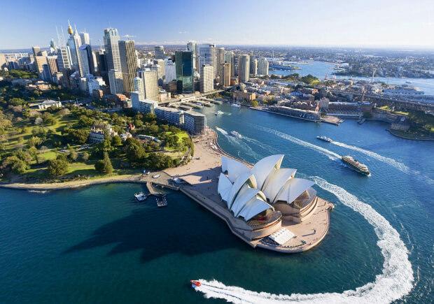 Сидней. Самые большие по территории страны мира. Топ -10.