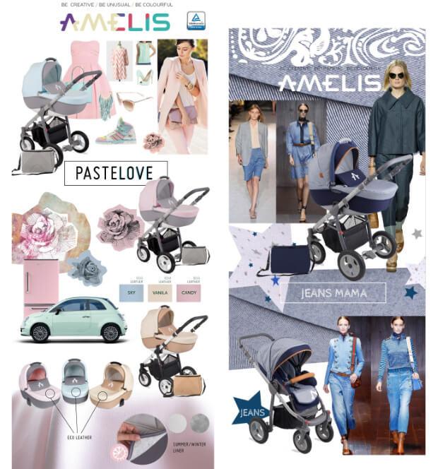 Коляски для новорожденных Noordline Amelis. Лучшие коляски для новорожденных. Рейтинг Топ-10. 2016-2017 год