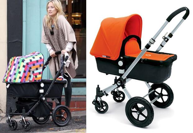 Bugaboo Cameleon. Лучшие коляски для новорожденных. коляски, знаменитости. Кейт Хадсон.