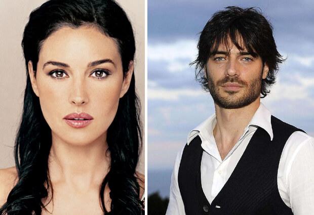 Самые красивые в мире люди. Италия. Моника Белуччи (Monica Anna Maria Bellucci) и Джулио Беррути (Giulio Berruti).